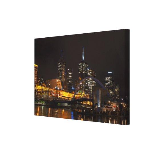 Melbourne Life Canvas Print