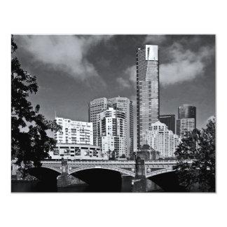Melbourne maravillosa invitación 10,8 x 13,9 cm