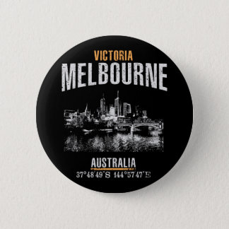 Melbourne Pinback Button
