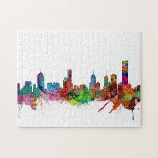 Melbourne Skyline Jigsaw Puzzle