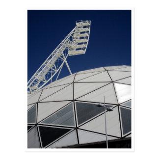 melbourne stadium bubble postcard