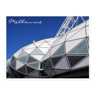 melbourne stadium postcard