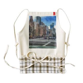 Melbourne streets zazzle HEART apron