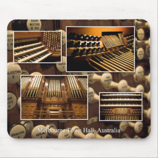 Melbourne Town Hall pipe organ Mouse Pad