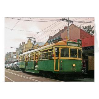 Melbourne tram card