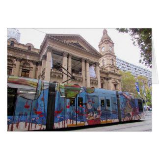 melbourne tram hall card