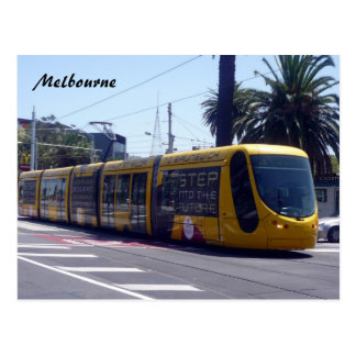 melbourne tram new postcard