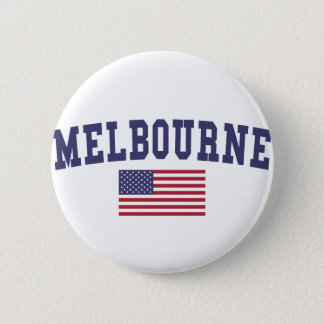Melbourne US Flag Button