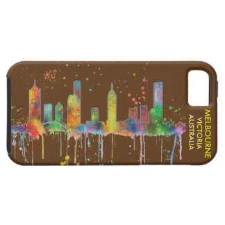 MELBOURNE, VICTORIA AUSTRALIA SKYLINE iPhone SE/5/5s CASE