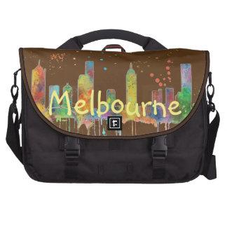 MELBOURNE, VICTORIA AUSTRALIA SKYLINE COMMUTER BAGS