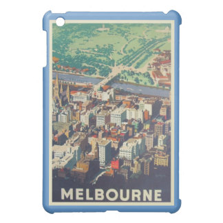 Melbourne Vintage Poster Ipad Cover