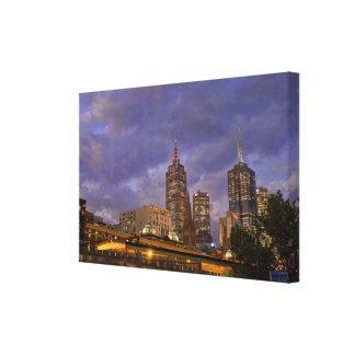 Melbuorne Skyline Canvas Print