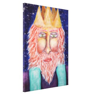 Melchior (Three Kings) Holiday Art Gallery Wrapped Canvas