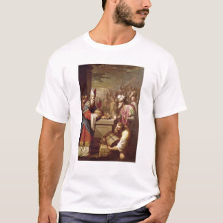 Melchizedek Offering Bread and Wine T-Shirt