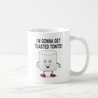 Melcocha tostada taza de café