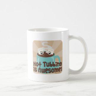 Melcochas calientes de Tubbing Taza Clásica