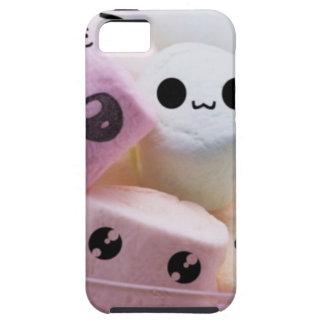 melcochas sonrientes lindas de la cara iPhone 5 protectores