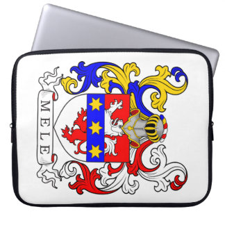 Mele Coat of Arms (Italian) Computer Sleeves