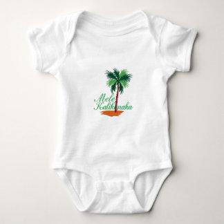 Mele Kalikimaka Baby Bodysuit
