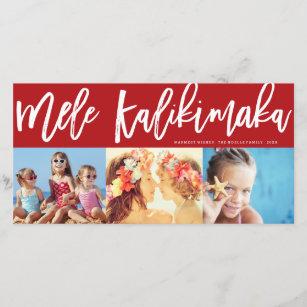 Mele Kalikimaka Christmas Cards.Mele Kalikimaka Photo Collage Card Cards Zazzle