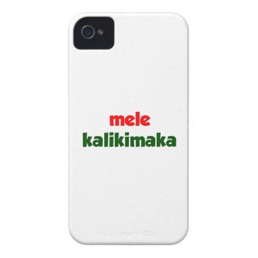 Mele Kalikimaka Case-Mate iPhone 4 Cárcasa