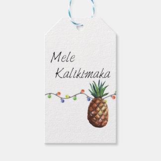 Mele Kalikimaka - Christmas Gift Tags