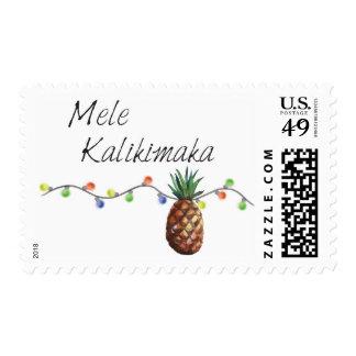 Mele Kalikimaka - Christmas Stamps