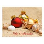 Mele Kalikimaka en la postal de la playa