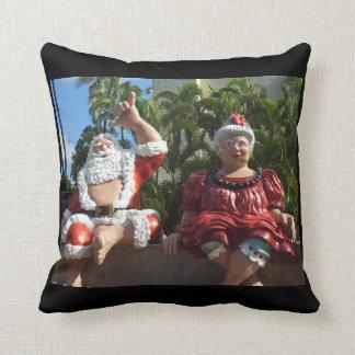Mele Kalikimaka from Honolulu Hawaii Pillow