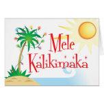 Mele Kalikimaka Greeting Card