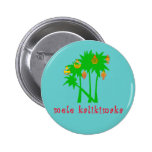 Mele Kalikimaka Hawaiian Christmas Apparel Button