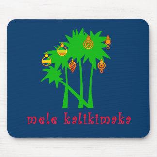 Mele Kalikimaka Hawaiian Christmas Apparel Mouse Pad