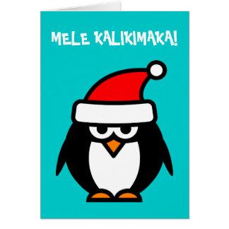 Mele Kalikimaka Hawaiian Christmas cards