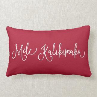 Mele Kalikimaka | Hawaiian Christmas Lumbar Pillow