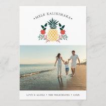 Mele Kalikimaka | Hawaiian Christmas Photo Holiday Card