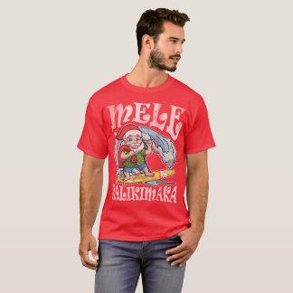 Mele Kalikimaka Hawaiian Christmas T-Shirt