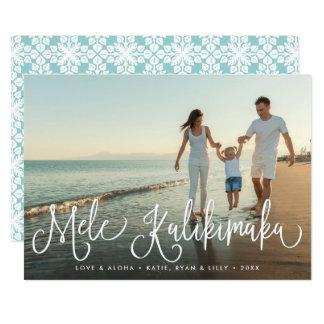 Mele Kalikimaka | Hawaiian Holiday Photo Card