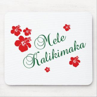 Mele Kalikimaka ~ Hawaiian Merry Christmas Mouse Pad