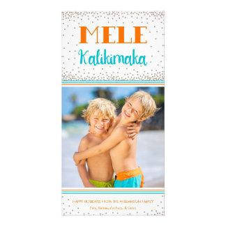 Mele Kalikimaka Holiday Photo Card