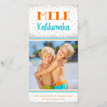 Mele Kalikimaka Holiday Photo Card
