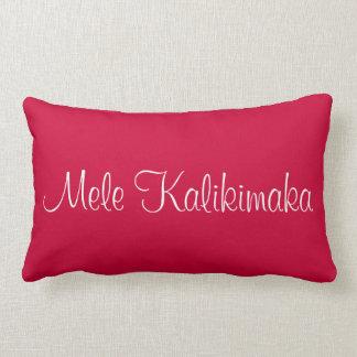 Mele Kalikimaka Lumbar Pillow