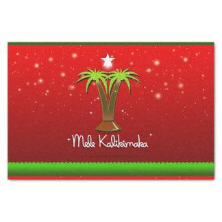 Mele Kalikimaka Palm Tree for Xmas Tissue Paper