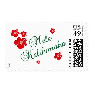 Mele Kalikimaka Postage