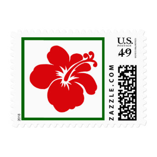 Mele Kalikimaka Postage Stamp