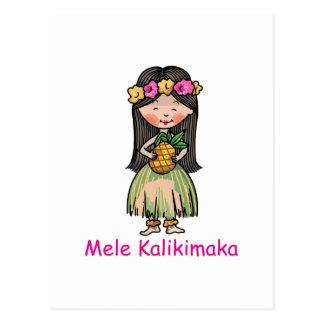 MELE KALIKIMAKA POST CARD