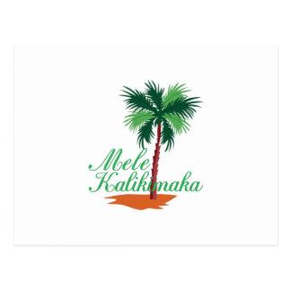 Mele Kalikimaka Postcard