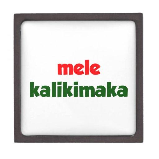 Mele Kalikimaka Premium Jewelry Boxes
