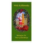 Mele Kalikimaka Tarjetas Con Fotos Personalizadas