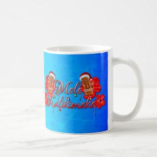 Mele Kalikimaka Tiki Classic White Coffee Mug