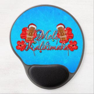 Mele Kalikimaka Tiki Gel Mouse Pad